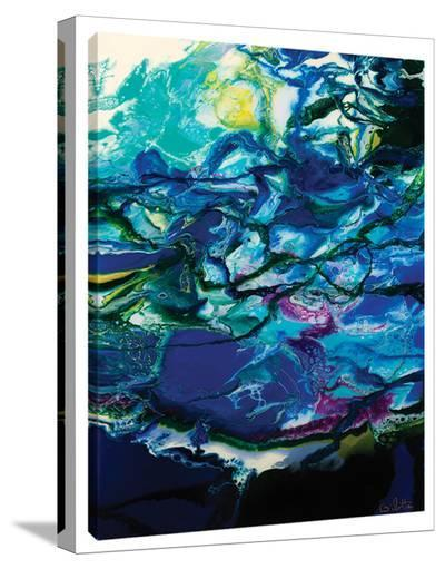 Moon Tide-Barbara Biolotta-Stretched Canvas Print