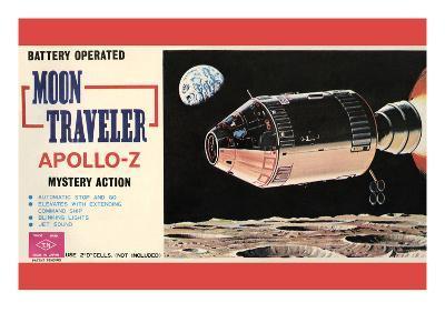Moon Traveler Apollo-Z--Art Print