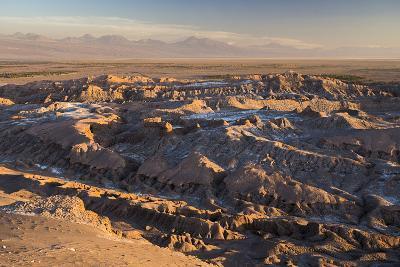 Moon Valley Sunset (Valle De La Luna), Atacama Desert, North Chile, Chile, South America-Matthew Williams-Ellis-Photographic Print