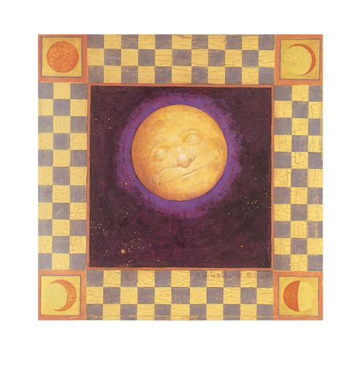 Moon-Robert LaDuke-Art Print