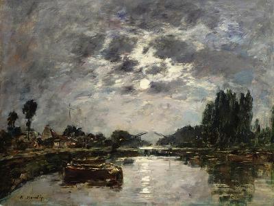 Moonlight, 1891-Eug?ne Boudin-Giclee Print