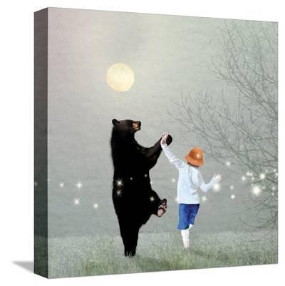 Moonlight Dance-Nancy Tillman-Stretched Canvas Print