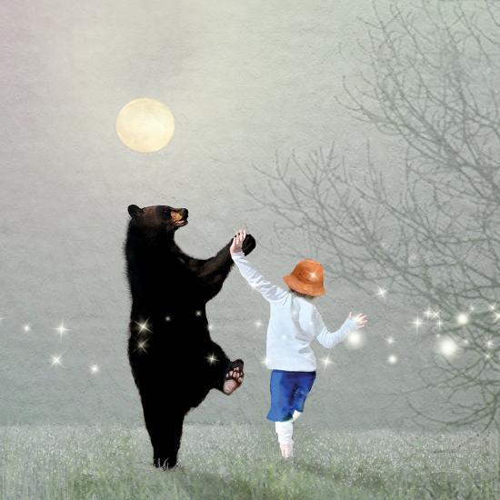 Moonlight Dance-Nancy Tillman-Art Print