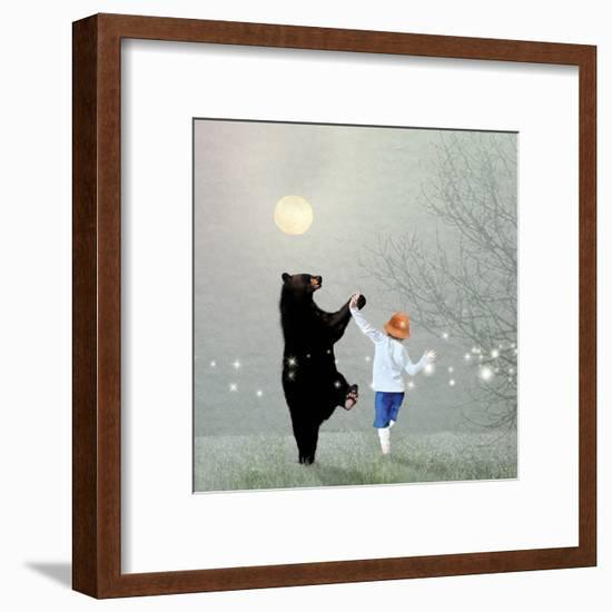 Moonlight Dance-Nancy Tillman-Framed Art Print