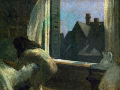 Moonlight Interior-Edward Hopper-Giclee Print