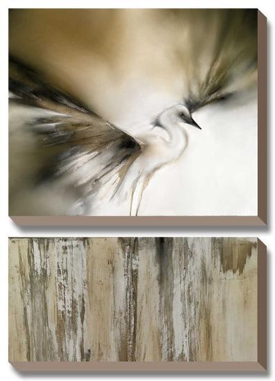 Moonlight Landing & the Egret-J^P^ Prior-Canvas Art Set