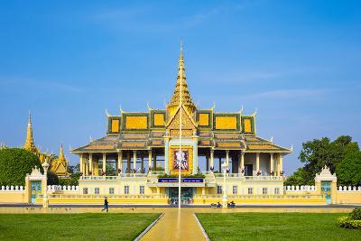 Moonlight Pavilion (Preah Thineang Chan Chhaya) of the Royal Palace, Phnom Penh, Cambodia-Jason Langley-Photographic Print