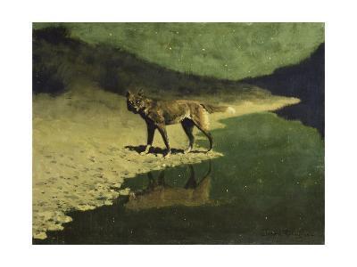 Moonlight, Wolf-Frederic Sackrider Remington-Giclee Print