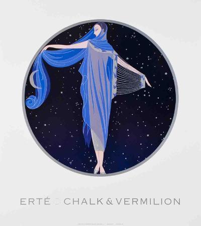 Moonlight-Erte-Art Print