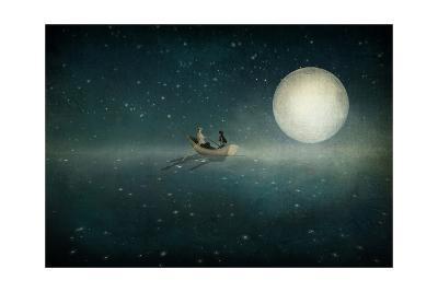 Moonlight-Maja Lindberg-Art Print