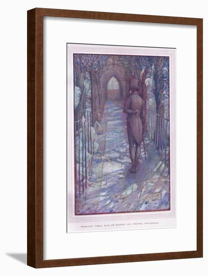 Moonlightitself, with its Shadowy and Spectral Appearances-Sybil Tawse-Framed Giclee Print