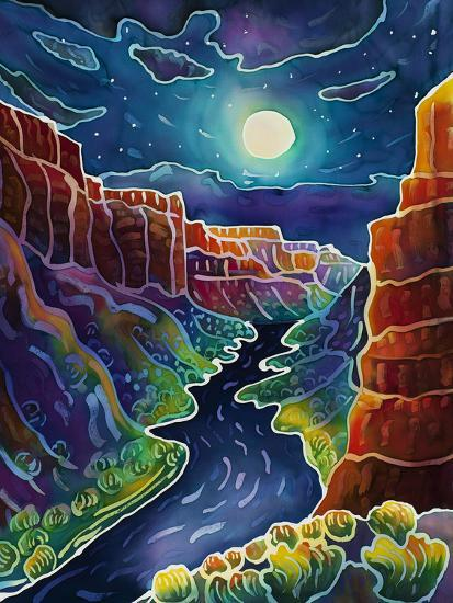 Moonlit Canyon-Harriet Peck Taylor-Giclee Print
