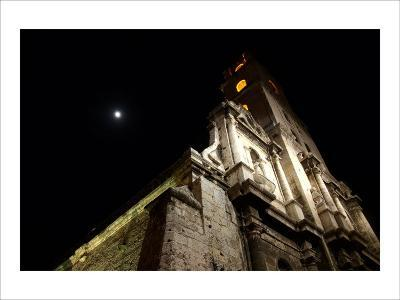 Moonlit Church-Charles Glover-Giclee Print