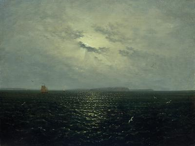 Moonlit Night, Rugia, Ca. 1819-Carl Gustav Carus-Giclee Print
