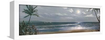 Moonlit Paradise II-Paul Geatches-Framed Canvas Print
