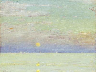 Moonrise at Sunset, Cape Ann, 1892-Childe Hassam-Giclee Print