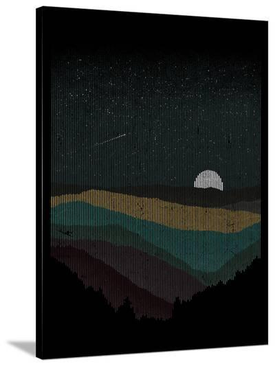 Moonrise (Color)-Florent Bodart-Stretched Canvas Print