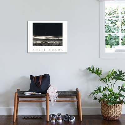 Moonrise Hernandez Art Print By Ansel Adams Art Com