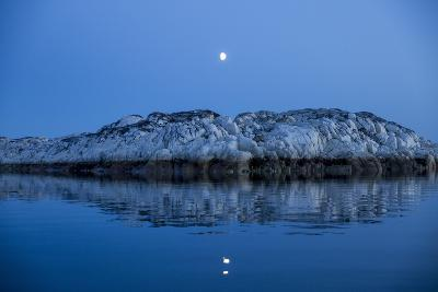Moonrise over Marble Island, Nunavut Territory, Canada-Paul Souders-Photographic Print