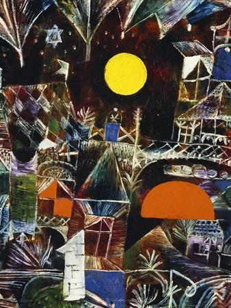 Moonrise - Sunset; Mondauf - Sonnenuntergang-Paul Klee-Giclee Print