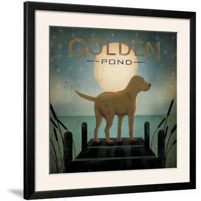Moonrise Yellow Dog-Ryan Fowler-Framed Photographic Print