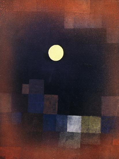 Moonrise-Paul Klee-Giclee Print