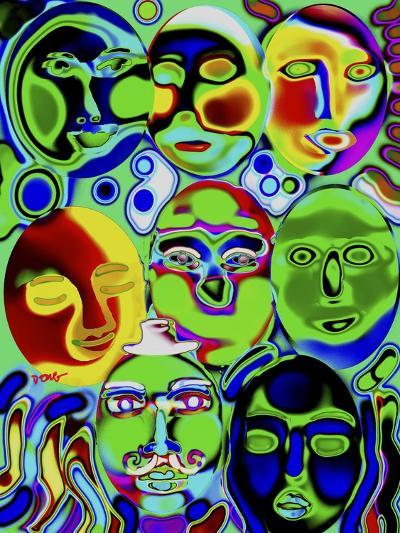 Moonshine-Diana Ong-Giclee Print