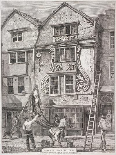 Moorfields, London, 1814-John Thomas Smith-Giclee Print