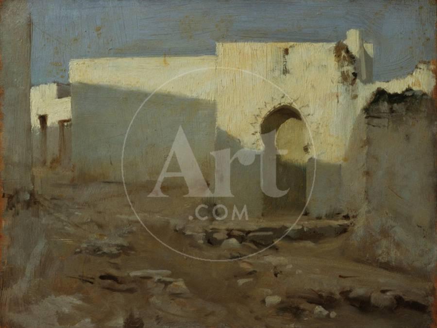 Moorish Buildings in Sunlight, 1879-80 Giclee Print by John Singer Sargent    Art com