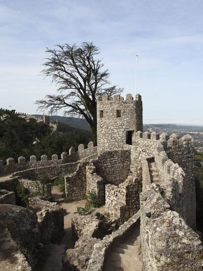 Moorish Castle (Castelo Dos Mouros) Walls and Ramparts, UNESCO World Heritage Site, Sintra, Distric-Stuart Forster-Photographic Print