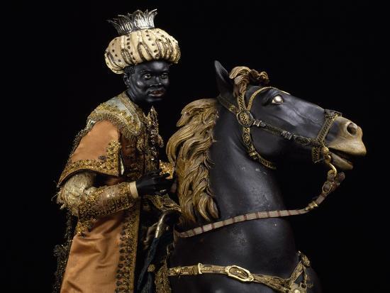 Moorish King on Horseback--Giclee Print