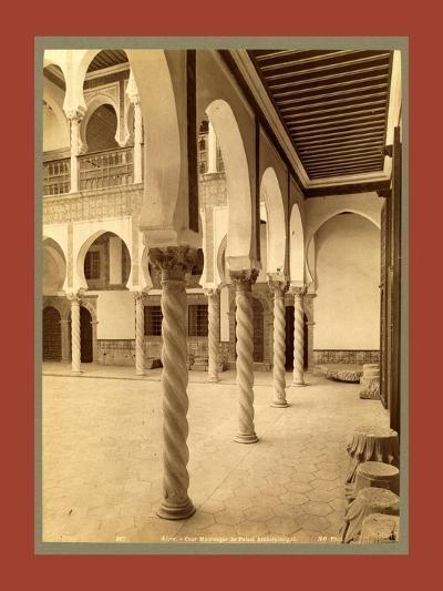Moorish Palace, Algiers-Etienne & Louis Antonin Neurdein-Giclee Print