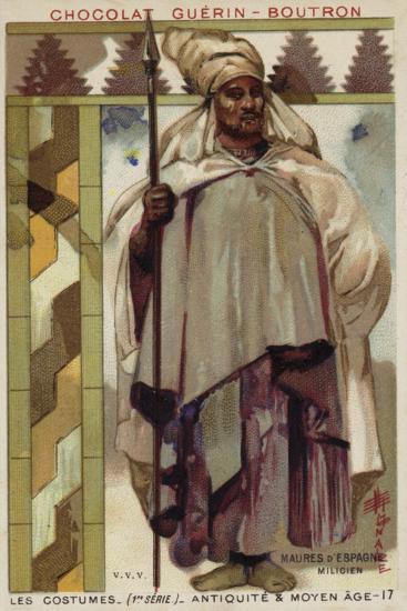 Moorish Soldier from Spain--Giclee Print