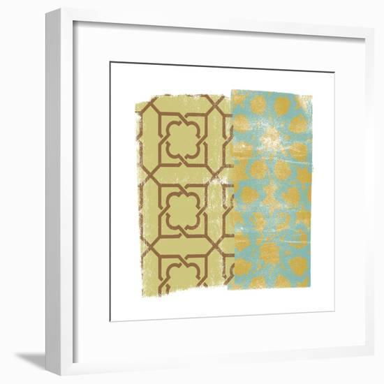 Moorish Study II-Alonzo Saunders-Framed Art Print