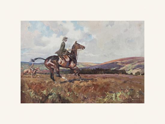 Moorland Gallup-Lionel Edwards-Premium Giclee Print