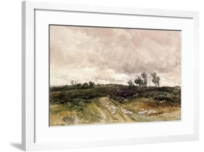 Moorland Scene, 1878-Thomas Collier-Framed Giclee Print