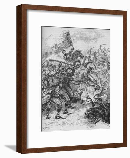 'Moors and Spaniards Mixed Inextricably', 1902-Paul Hardy-Framed Giclee Print