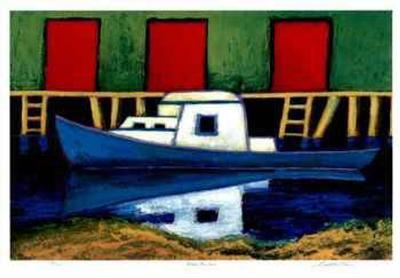 Moose Harbor-Carol Ann Shelton-Collectable Print