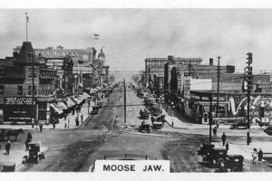 Moose Jaw, Saskatchewan, Canada, C1920S