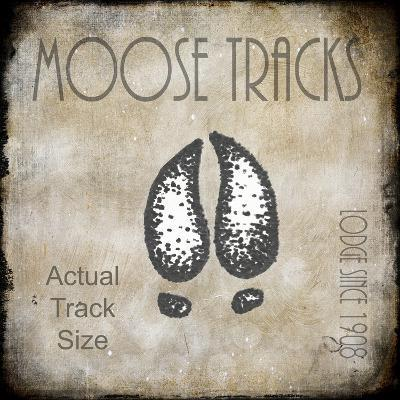 Moose Lodge 2 - Moose Tracks 2-LightBoxJournal-Giclee Print
