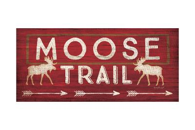 Moose Trail-Jennifer Pugh-Art Print