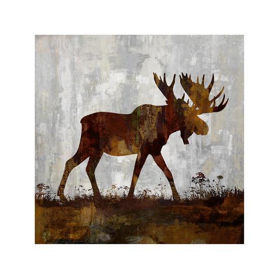 Moose-Carl Colburn-Giclee Print
