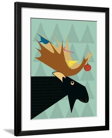 Moose-Marie Sansone-Framed Giclee Print