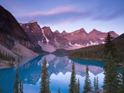 Moraine Lake and Valley of 10 Peaks, Banff National Park, Alberta, Canada-Michele Falzone-Photographic Print