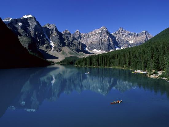 Moraine Lake Banff National Park Alberta Canada Photographic Print By Art Com