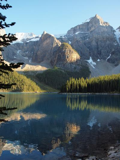 Moraine Lake in Banff National Park-Vienna mornings-Photographic Print