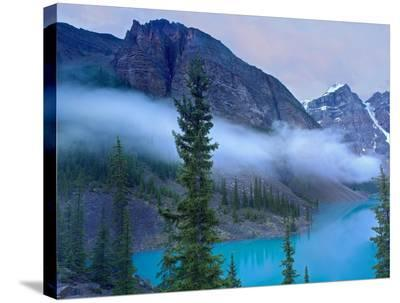 Moraine Lake in the Valley of Ten Peaks, Banff National Park, Alberta, Canada-Tim Fitzharris-Stretched Canvas Print