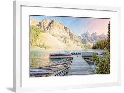 Moraine Lake-Roberta Murray-Framed Photographic Print