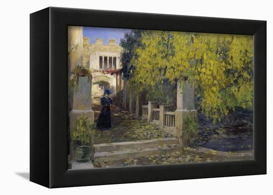 Moralt in Autumn-Alexander Koester-Framed Stretched Canvas Print