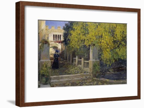 Moralt in Autumn-Alexander Koester-Framed Giclee Print